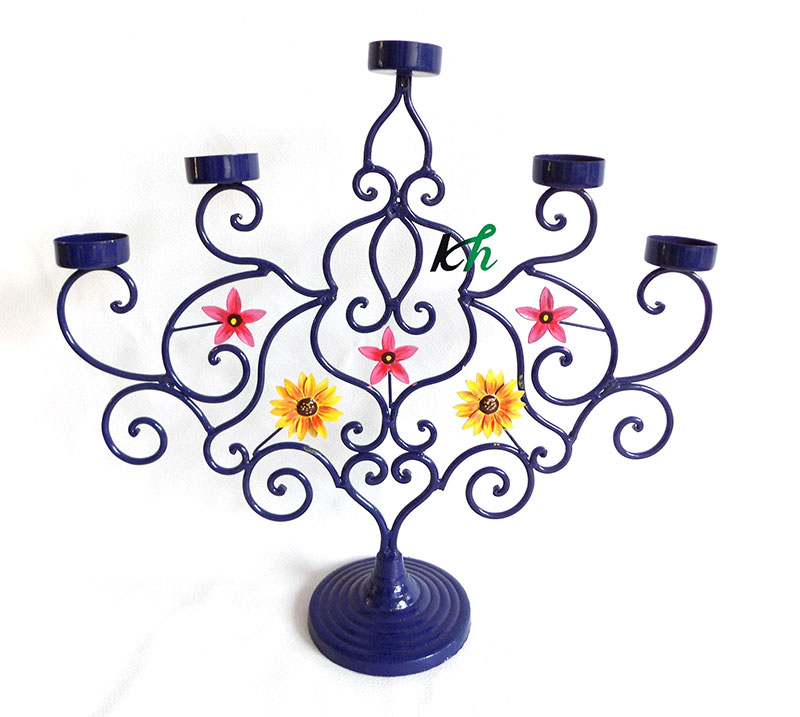 Iron Candle Stand - 2